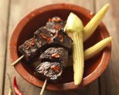 Brochettes péruviennes de coeur de boeuf | Cuisine AZ