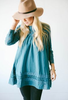 Boho Lace Tunic - 2 Colors! - Photo 2 http://www.lucyandlyla.com/