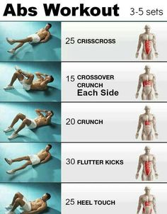 Ab workout i could do before bed each day  Free Book with Top 100 Fat Burning Foods List