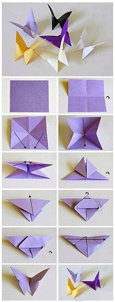Бумага ручной работы арт-бабочка бабочка так просто - как этот ...
