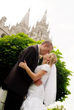 LDS Salt Lake Temple Wedding  This Mormon pin is loved at www.MormonLink.com