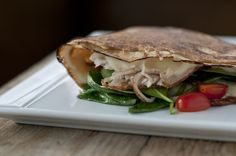 Ethan Stowell's Turkey Crêpe. Available at La Crêperie (located in The 'Pen).