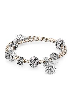 PANDORA's rose pieces are dazzling symbols of love and compassion - the rose opens it petals welcoming love into a mother's heart. #PANDORAbracelet #MothersDay #PerfectGift