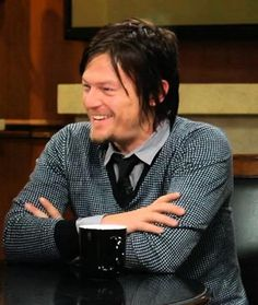 Norman Reedus - Daryl Dixon, The Walking Dead... that smile ♥