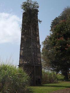 Old Chimney - Savannah Sugar Estate - south coast of Mauritius