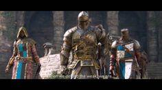 FOR HONOR - Viking, Samurai & Knight Factions Gameplay Trailer  (Gamesco...