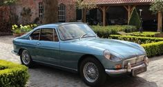 1965 MG Berlinette - Coupé, one of the rarest MGBs there is.