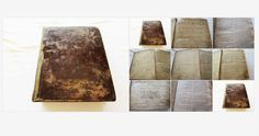 1793 #HolyBible His #Majesty Printers Mark and Charles Kerr  #gotvintage