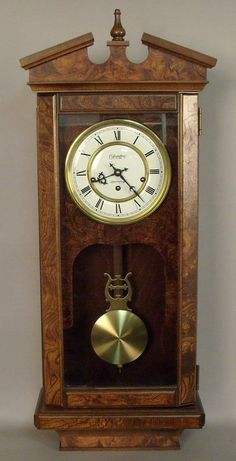 64: Contemporary Hamilton Lancaster County wall clock : Lot 64