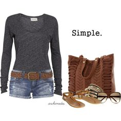 """""""Simple"""" by archimedes16 on Polyvore"""