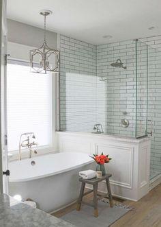 small bathroom designs walk in shower Ideas Baños, Decor Ideas, Decorating Ideas, Interior Decorating, Douche Design, Interior Minimalista, Shower Remodel, Remodel Bathroom, Restroom Remodel