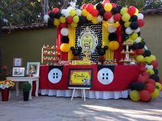 Tavolo Compleanno Topolino : Fantastiche immagini in palloncini di compleanno su