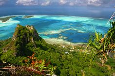 . Frans-Polynesië, in de zuidelijke Stille Oceaan