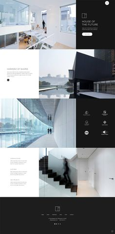 Buy Dessau - Contemporary Theme for Architects and Interior Designers by Select-Themes on ThemeForest. Welcome to Dessau, a modern WordPress theme for architects and interior designers that will help you create an amazi. Portfolio Design Layouts, Layout Design, Portfolio D'architecture, Design De Configuration, Mise En Page Portfolio, Site Web Design, Interior Design Layout, Interior Design Presentation, Website Design Layout