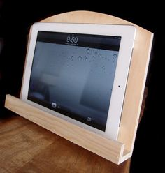 Great to use in photo booth, to show instagram , $4.99 Wood iPAD Stand,