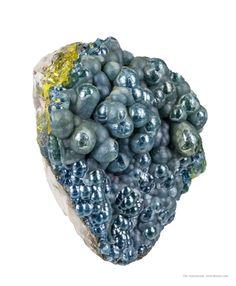 Plumbogummite Yangshuo Mine, Yangshuo Co., Guilin Pref., Guangxi Zhuang, China Taille=4.8 x 3.6 x 3.5 cm