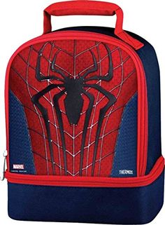 Kids' Lunch Bags - Ultimate Spiderman Thermos Dual Compartment Lunch Kit * Find out more about the great product at the image link.