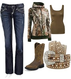 """camo girl"" by blckkat ❤ liked on Polyvore"