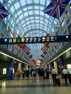 Chicago O'Hare International Airport (ORD) in Chicago, IL
