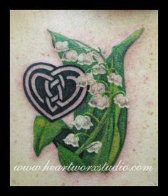 Image result for lily of the valley tattoo