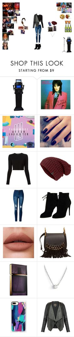 """Karaoke Night!!"" by caramara3 ❤ liked on Polyvore featuring Rebel Yell, Rachael Ray, Lottie, Proenza Schouler, WithChic, Tom Ford, Chloé, Elizabeth and James, ZoÃ« Chicco and Casetify"