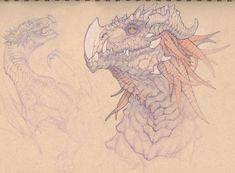 Dragon Portrait, Charles Hamel on ArtStation at http://www.artstation.com/artwork/dragon-portrait