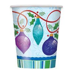 vasos con diseños navideños - Buscar con Google