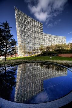 One Park West @ Liverpool One, England by Pelli Clarke Pelli Architects