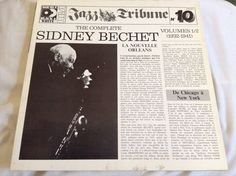 Sidney Bechet The Complete Sidney Bechet Volumes 1/2 Double LP