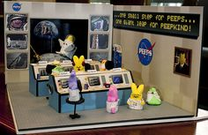 Peeps in space! http://www.neatorama.com/2011/04/08/13-hilarious-peeps-candy-easter-dioramas/