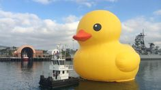 Tall Ships Festival L.A. to be Led by 6-Story-High RubberDuck