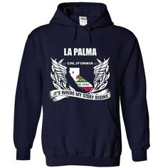 La Palma - Its where my story begins! - #bridesmaid gift #creative gift. WANT IT => https://www.sunfrog.com/No-Category/La-Palma--Its-where-my-story-begins-4019-NavyBlue-Hoodie.html?68278