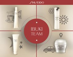 Il tuo #Ibuki team! www.shiseido.it