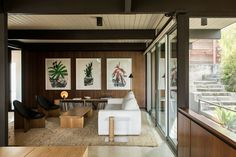 Who ever thought we'd fall in love with wood paneling?