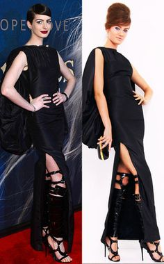 Anne Hathaway Wears Tom Ford knee-high gladiator sandals! What do you think of her look? http://www.eonline.com/news/370364/anne-hathaway-wears-tom-ford-knee-high-gladiator-sandals-and-nails-it
