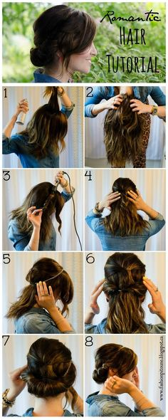 Fashion Pitoune: Romantic hair tutorial