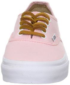 Vans Authentic Slim Women's Shoes Brushed Twill Soft Pink (5.5 US Women)