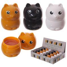 LIP33 - Lucidalabbra a forma di Gatto | Puckator IT #partybag #kid #idee #compleanno #bambini