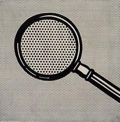 Roy Lichtenstein - Magnifying Glass