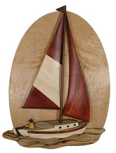 Intarsia Sail boat | Flickr : partage de photos !