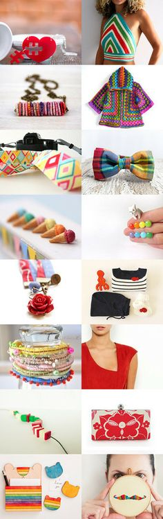 Colour makes me happy by Reyes on Etsy--Pinned with TreasuryPin.com