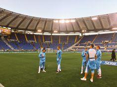Vi er naturligvis med fra Stadio Olipico til kampen mellem Lazio og Napoli.