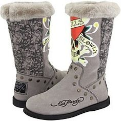 Ed Hardy - Well, I have the white ones... but close enough, right?