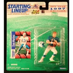 DAN MARINO / MIAMI DOLPHINS 1997 NFL Starting Lineup Action Figure & Exclusive NFL Collector Trading Card (Toy)  http://ruskinmls.com/pinterestamz.php?p=B005O0R14E  B005O0R14E