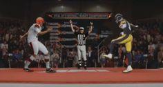 "Steelers Antonio Brown ""Crane Kick"" / Karate Kid Parody"
