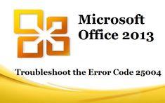 microsoft office 2013 code