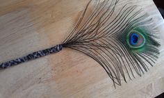 Peacock Feather PenWedding Sign In Shower Gift by CherylsGoodStuff, $8.50