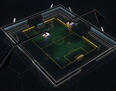 Stadium Soccer Glow 3d model: abstractarchitectureballchampionshipequipmentfootballfuturisticgameglareglassglowgoalhobbymatchreflectshinesoccersportstadium