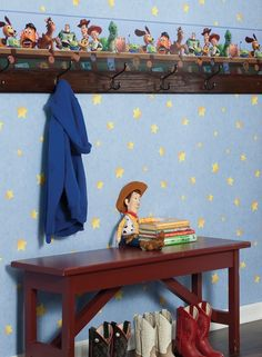 York Toy Story 3 wallpaper and border