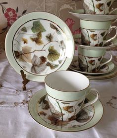Very Unusual Elizabethan Fine Bone China by florenceforeverfinds